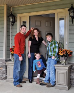 The Barnett Family - Our first Woman-Centric Homeowners