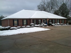 Snow in LaGrange 021012