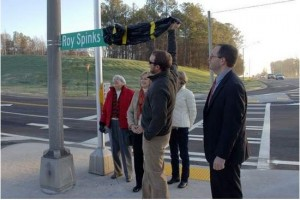 Roy Spinks Drive road dedication (39)