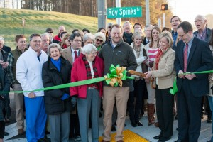 Roy Spinks Drive road dedication (9)