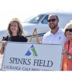 Family of Roy Spinks at Spinks Field dedication
